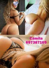 697387169 -  Hola chicos soy Camila una rubia deliciosa y ardiente coñito calentico estrechito muy mojadito un verdadero manjar para los paladare