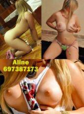 697387173 -  Hola chicos soy Aline una musa de labios ardientes y un cuerpo desbordante de erotismo que te hara disfrutar del buen sexo y placer