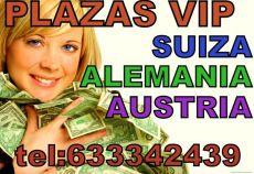 633342439 - MARCA TU PLAZA EN SUIZA Y ALEMANIA AUSTRIA