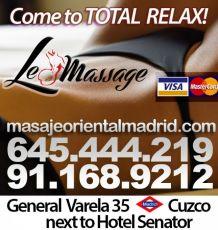 645444219 - Le Massage, profesionales en Masajes Eróticos
