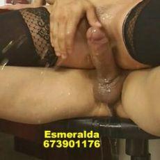 673901176 -   Novedad !!! Novedad !!! Esmeralda viciosa muy ardiente morenaza 26 añitos nueva en esto pero bien putita, doy besos de