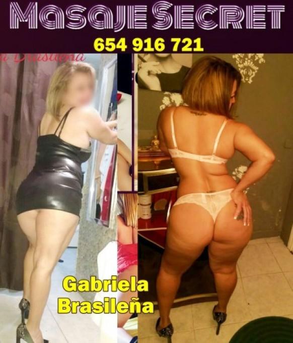 654916721 -   Gabriela Brasileña madurita fiestera trato exquisito, exótica y exuberante con unas curvas que te volverán loco y unos - milescorts.es