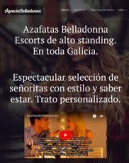 Azafatas BelladonnaEscorts de alto standing.En toda Galicia.Espectacular selección de señoritas con ...