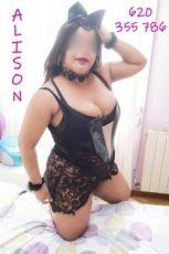 620355786 - ALISON ARDIENTE Y COMPLACIENTE DOMINICANA...24HRS