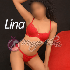 Hola guapos, soy Lina una masajistacompletamente real, me encanta experimentar sensaciones nuevas pl...