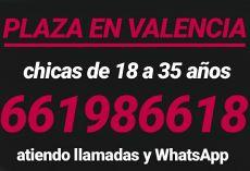 Casa en Valencia dispone de una plaza libre para señorita con buen físico, educada y sin vicios. Ofr...